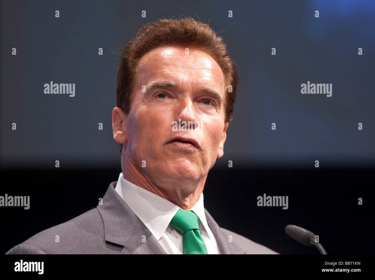 Arnold Schwarzenegger, gouverneur de l'état de Californie Photo Stock