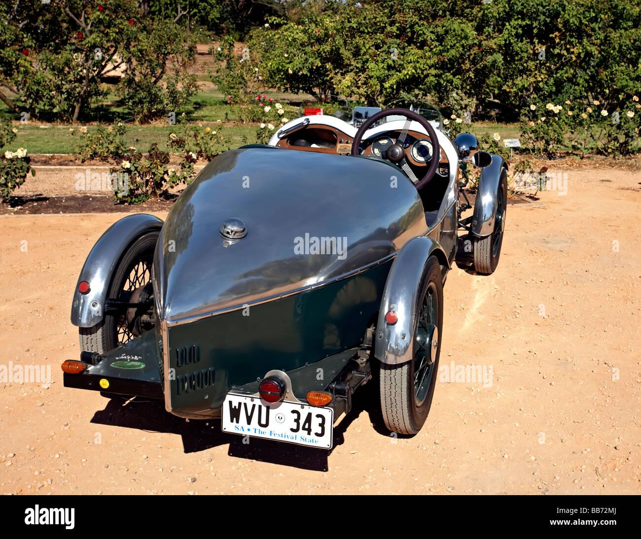 Chanteur historique automobiles sur un week-end rencontrez chez Renmark dans le Riverland, Australie du Sud Photo Stock