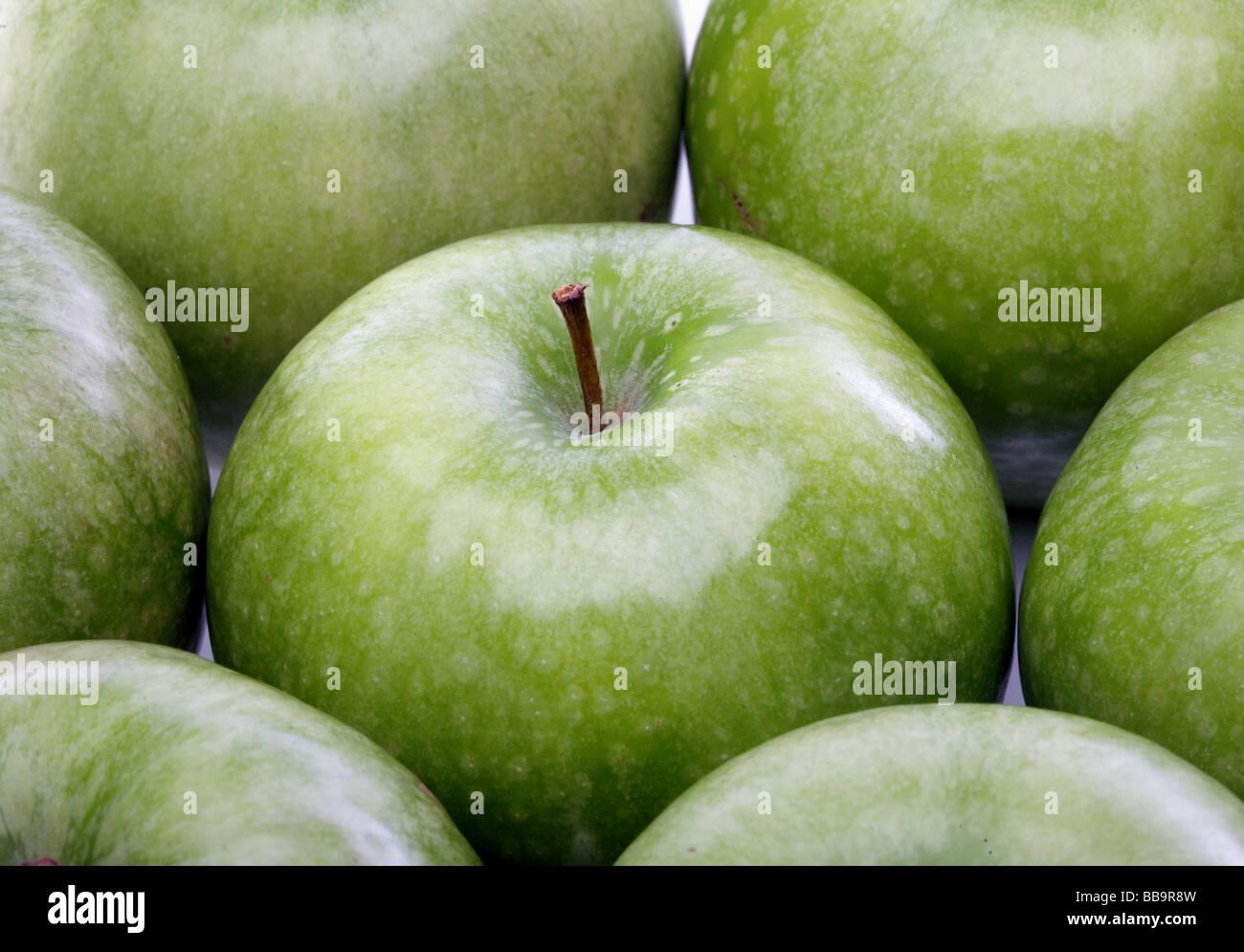 Pomme verte Photo Stock