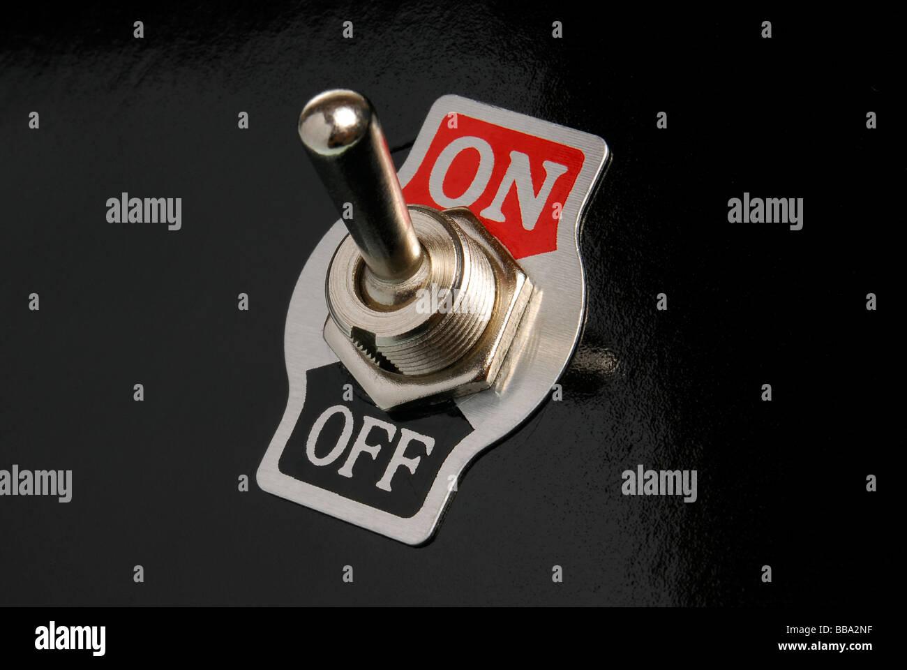 Interrupteur marche/arrêt Photo Stock
