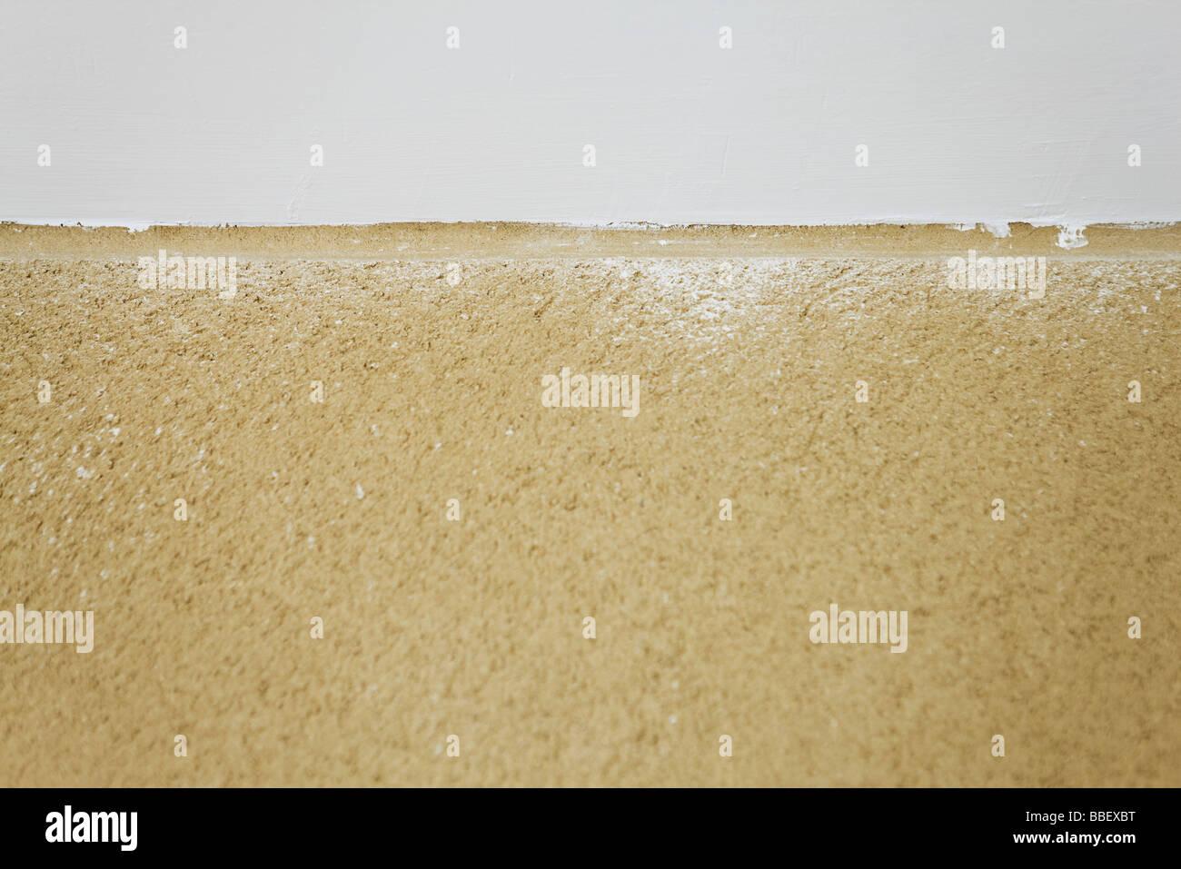 Mur en stuc, close-up Photo Stock