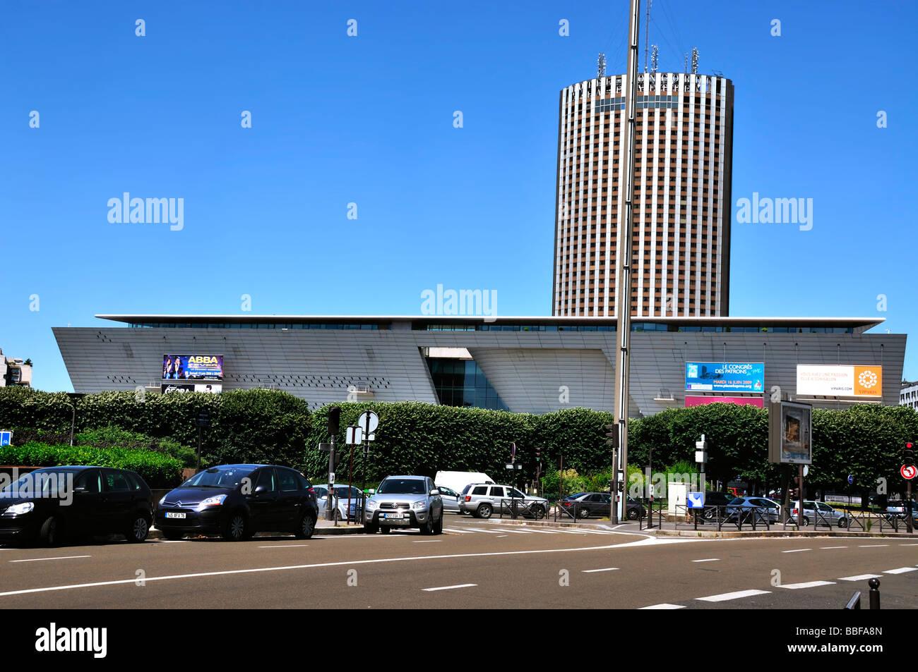 Centre Commercial Palais Des Congrès paris france, architecture commerciale convention centre, 'palais