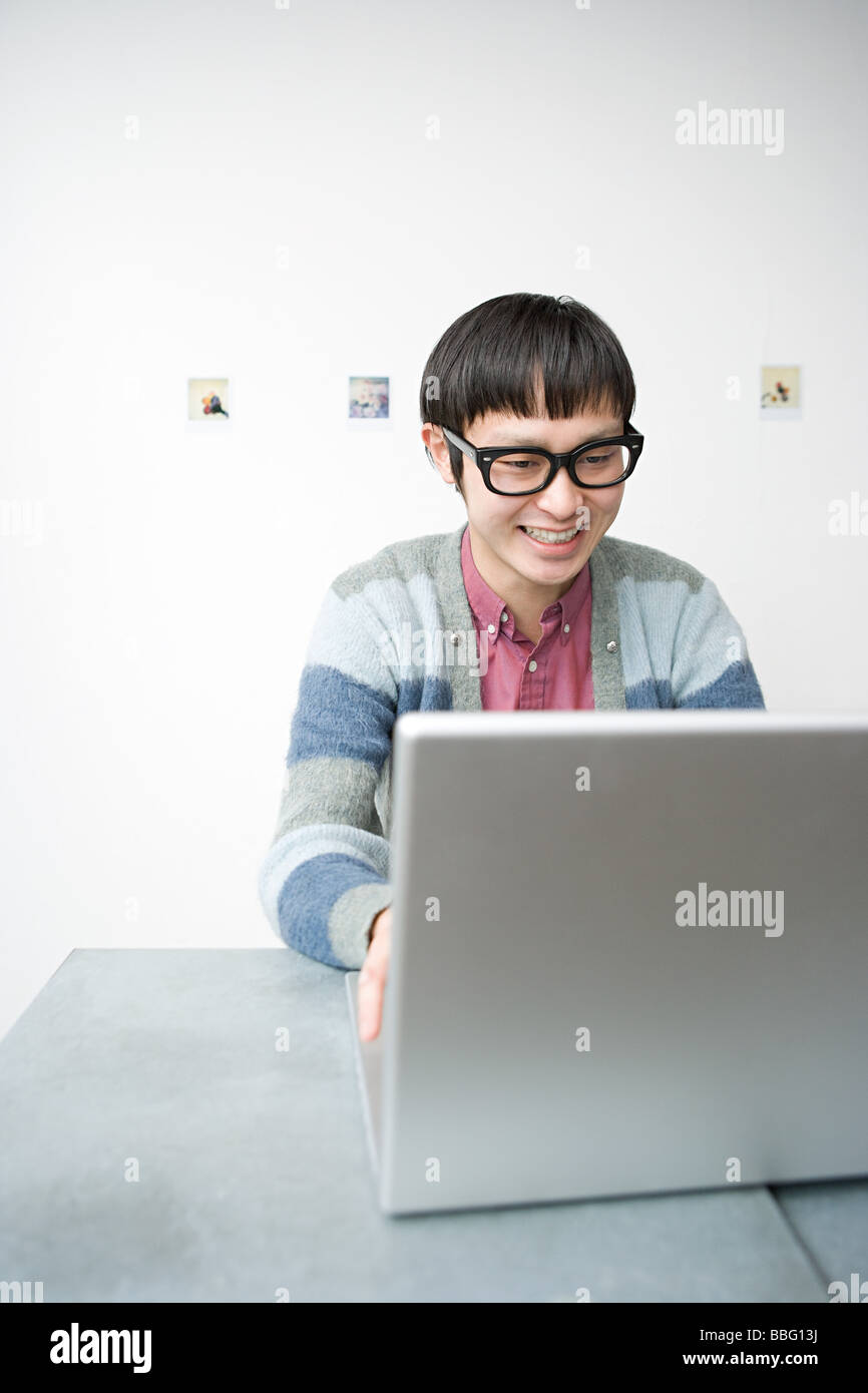Geek Computer Man Photos   Geek Computer Man Images - Alamy ba0d0041c703
