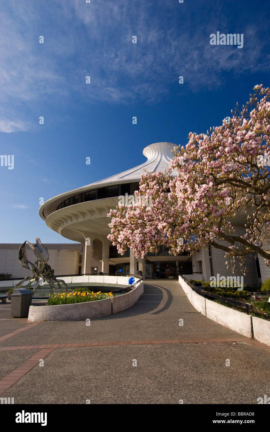 McMillan Space Center à Vanier Park Vancouver Photo Stock