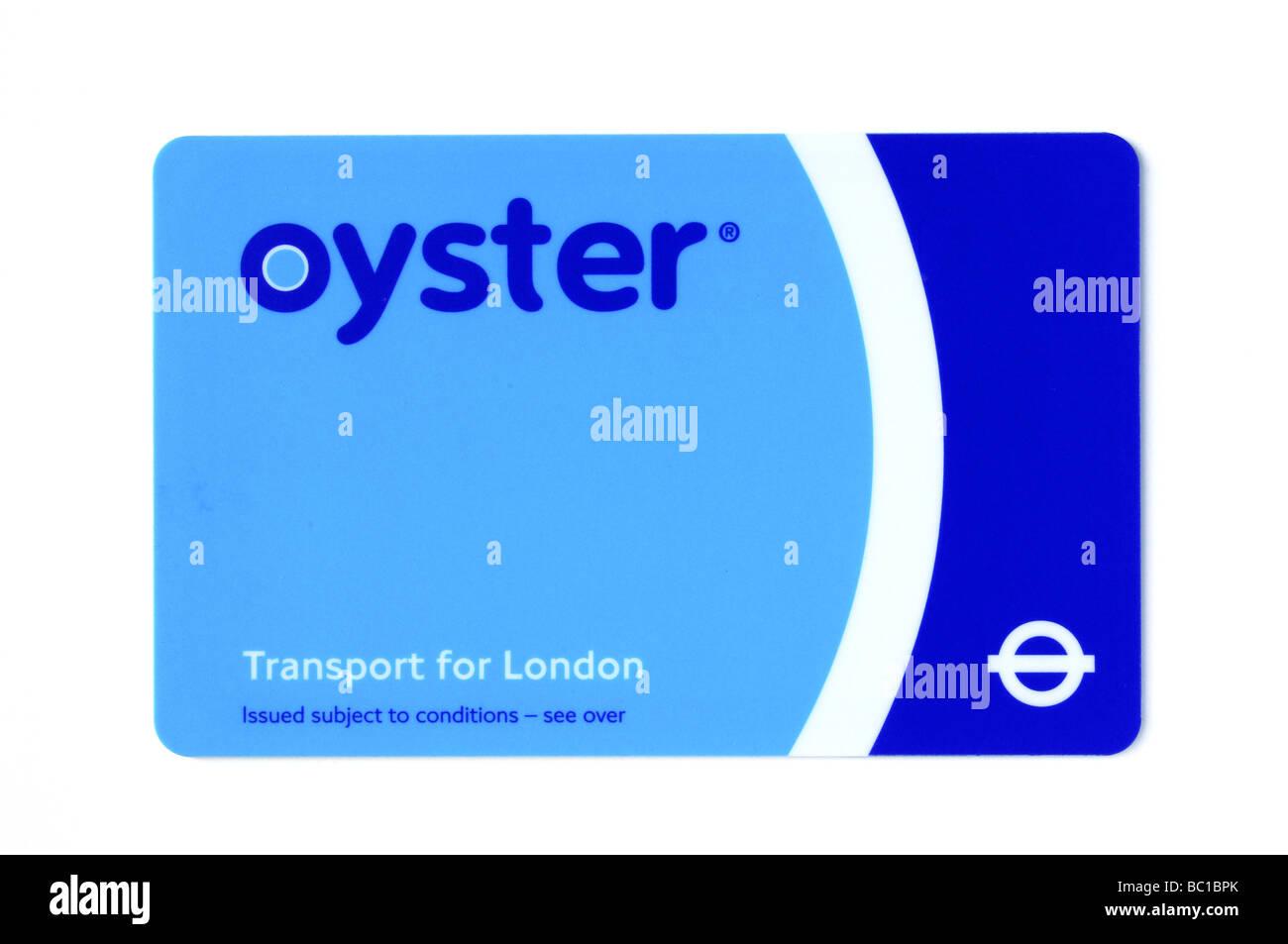 Carte Oyster Utilise Pour Les Transports Publics A Londres Photo Stock Alamy