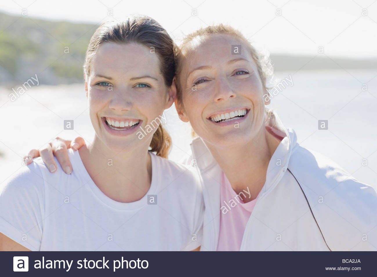 Amis de caresses Photo Stock