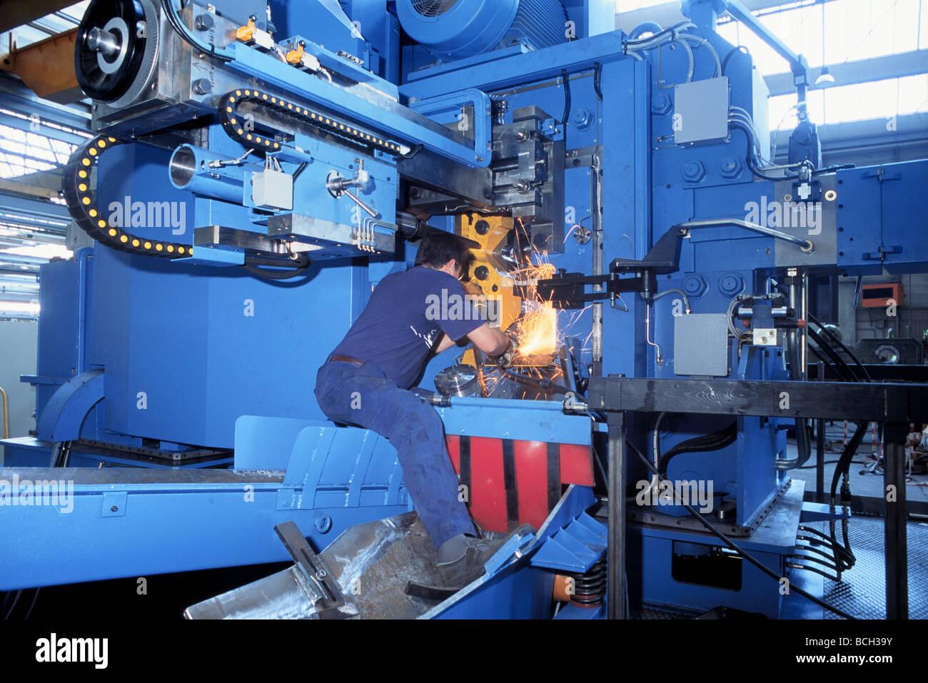 La machine-outil en Italie, FICEP factory Photo Stock