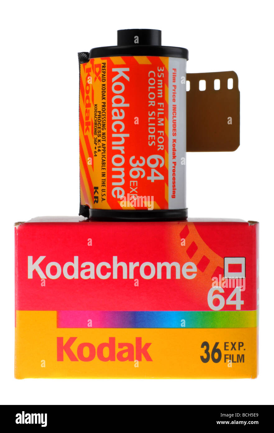 Film Kodachrome Kodak Photo Stock