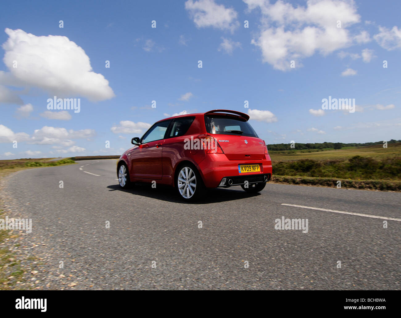 Suzuki Swift Sport 2009 Photo Stock