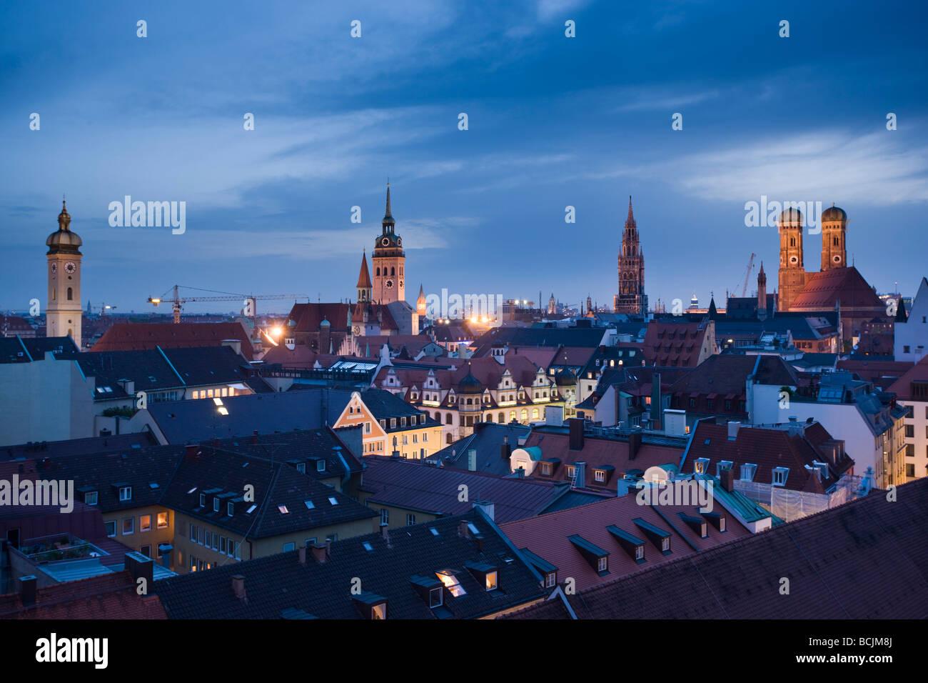 Allemagne, Bayern/Bavière, Munich, de la vieille ville de Munich Hôtel Mandarin-Oriental Photo Stock