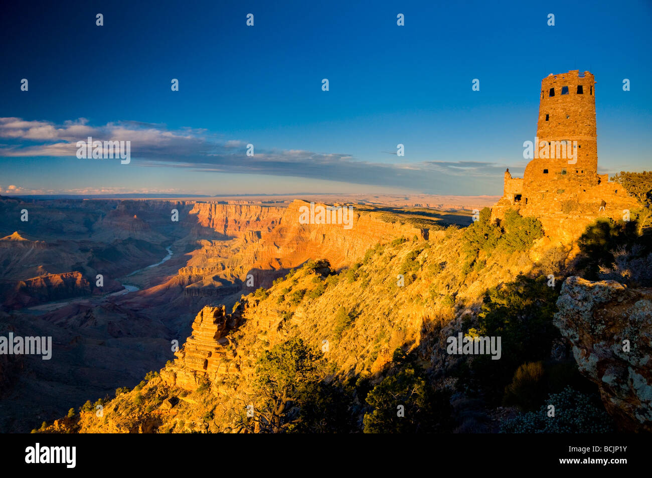 USA, Arizona, Grand Canyon, Desert View Photo Stock