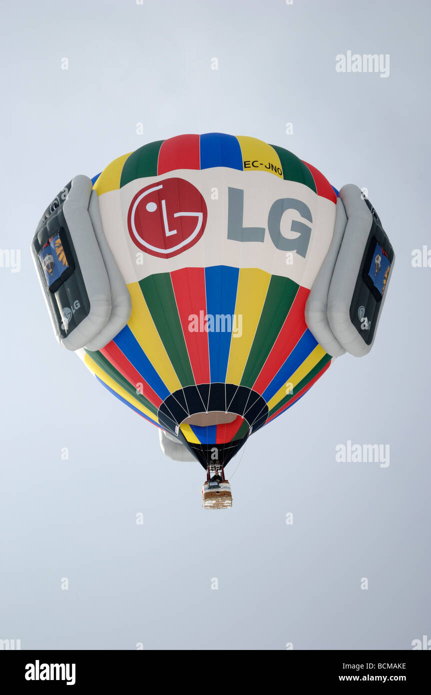 LG 2006 ballons Chateau d oex Hot Air Balloon Festival Suisse Europe Banque D'Images