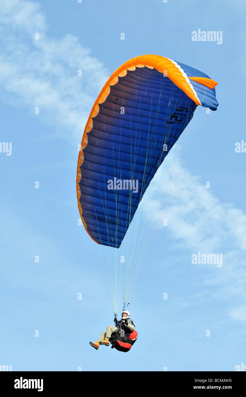 2008 parapente Chateau d oex Hot Air Balloon Festival Suisse Europe Banque D'Images