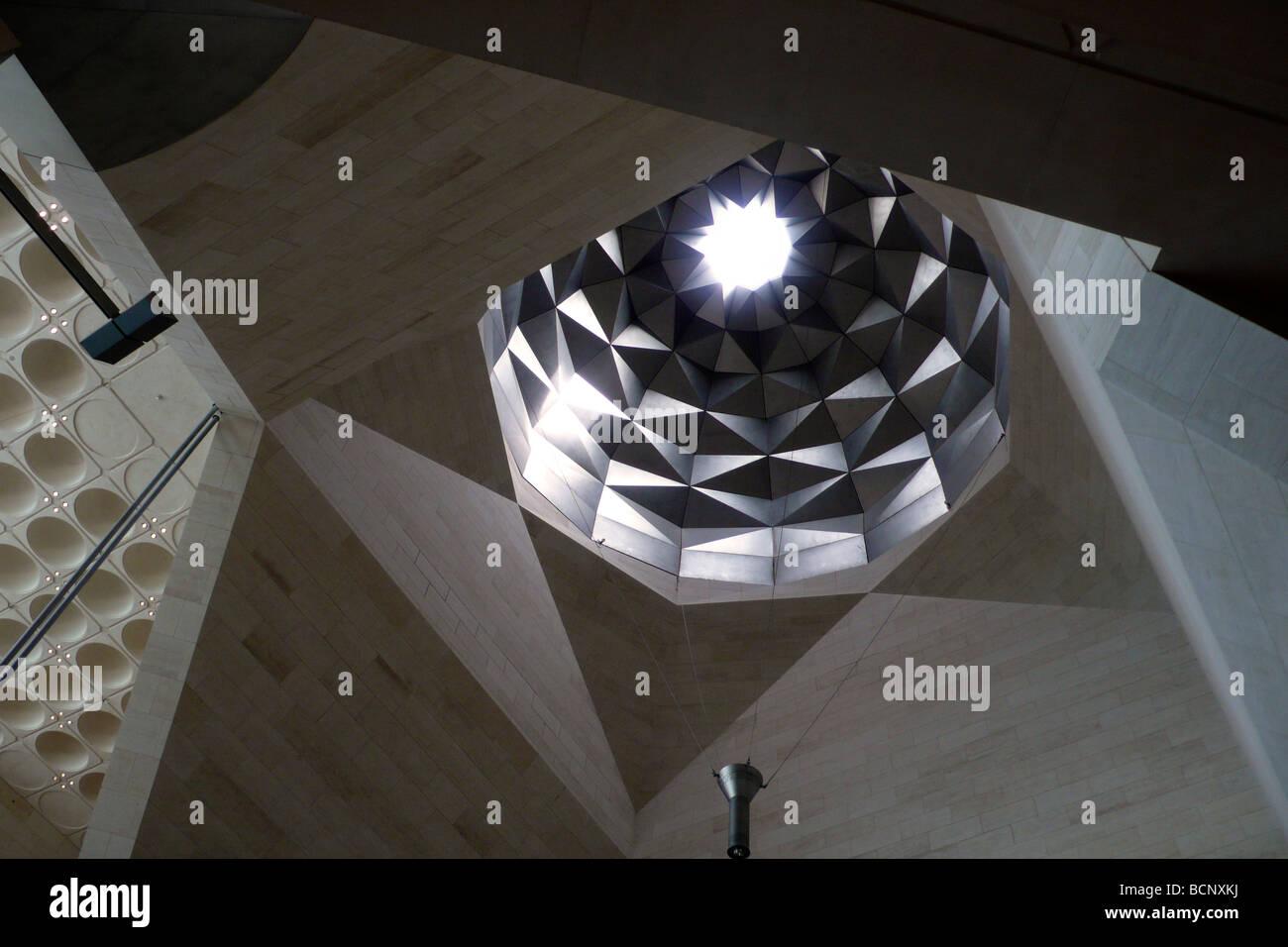 Qatar musée d'art islamique de Doha Photo Stock