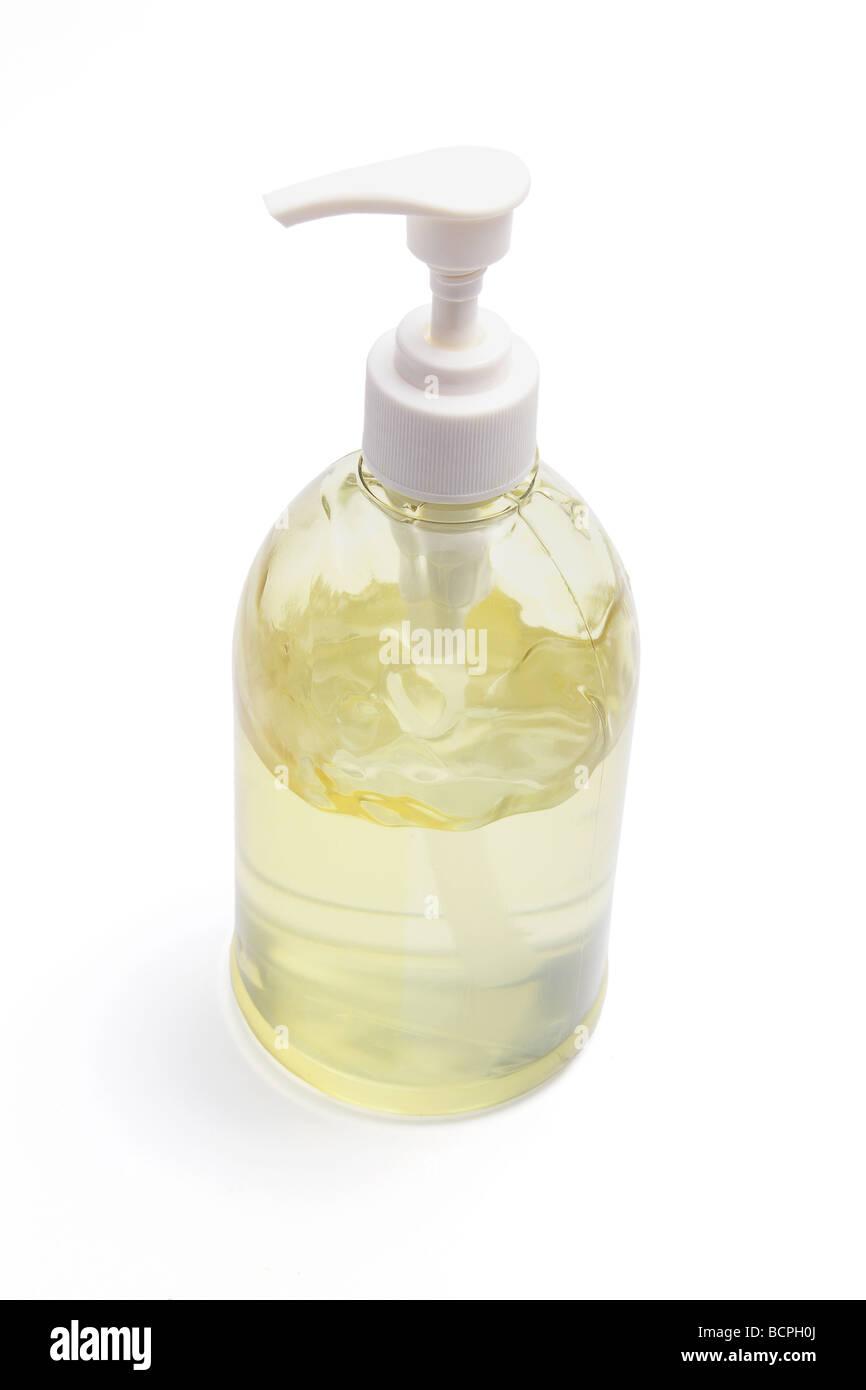 Bouteille de gel pour les cheveux Photo Stock