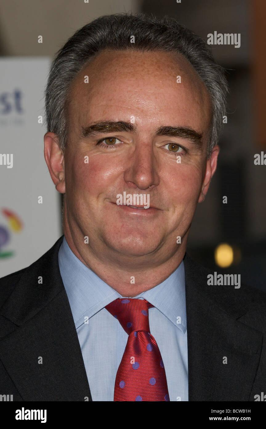 Londres 28 mai Pic montre James Mates participant à la vie de respiration awards Hilton Metropole London 28 Photo Stock
