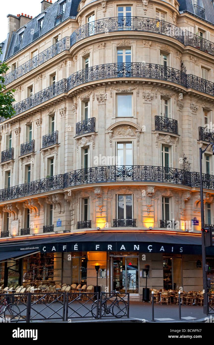 Cafe Francais, Paris France Photo Stock