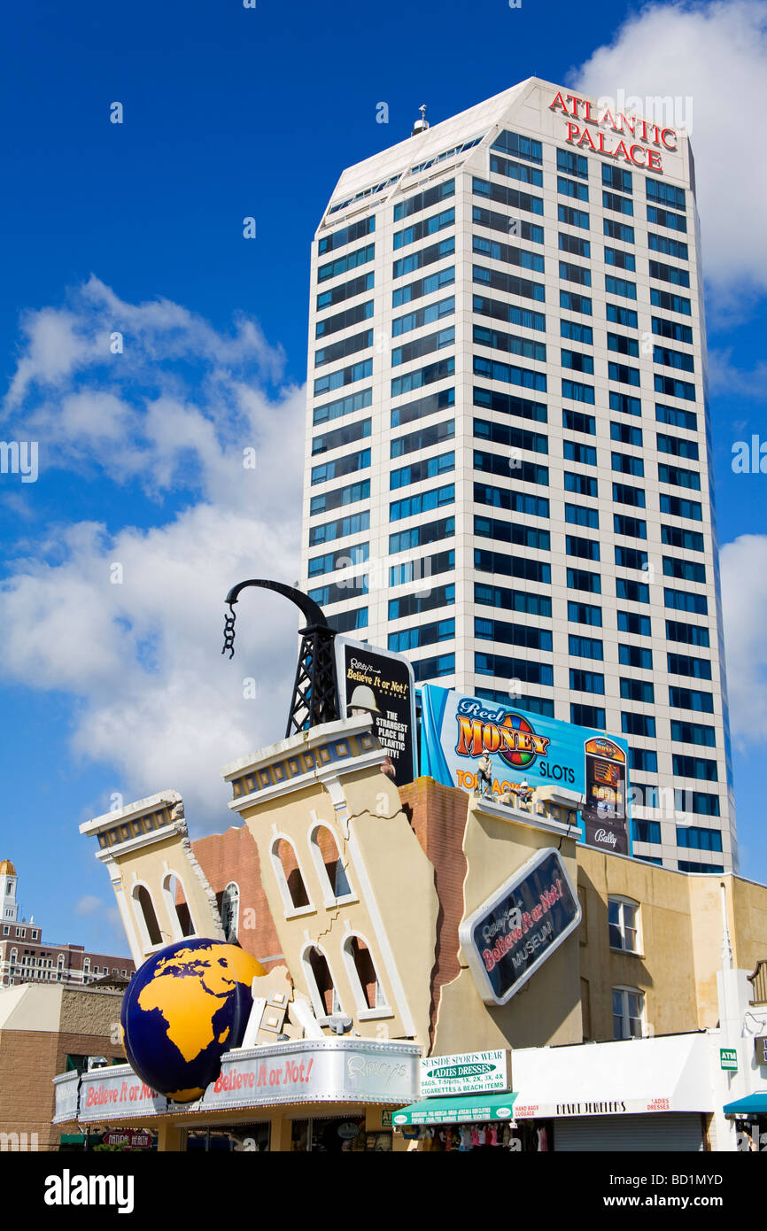 Atlantic Palace Casino Ripley s Belive It or Not Atlantic City New Jersey USA Photo Stock