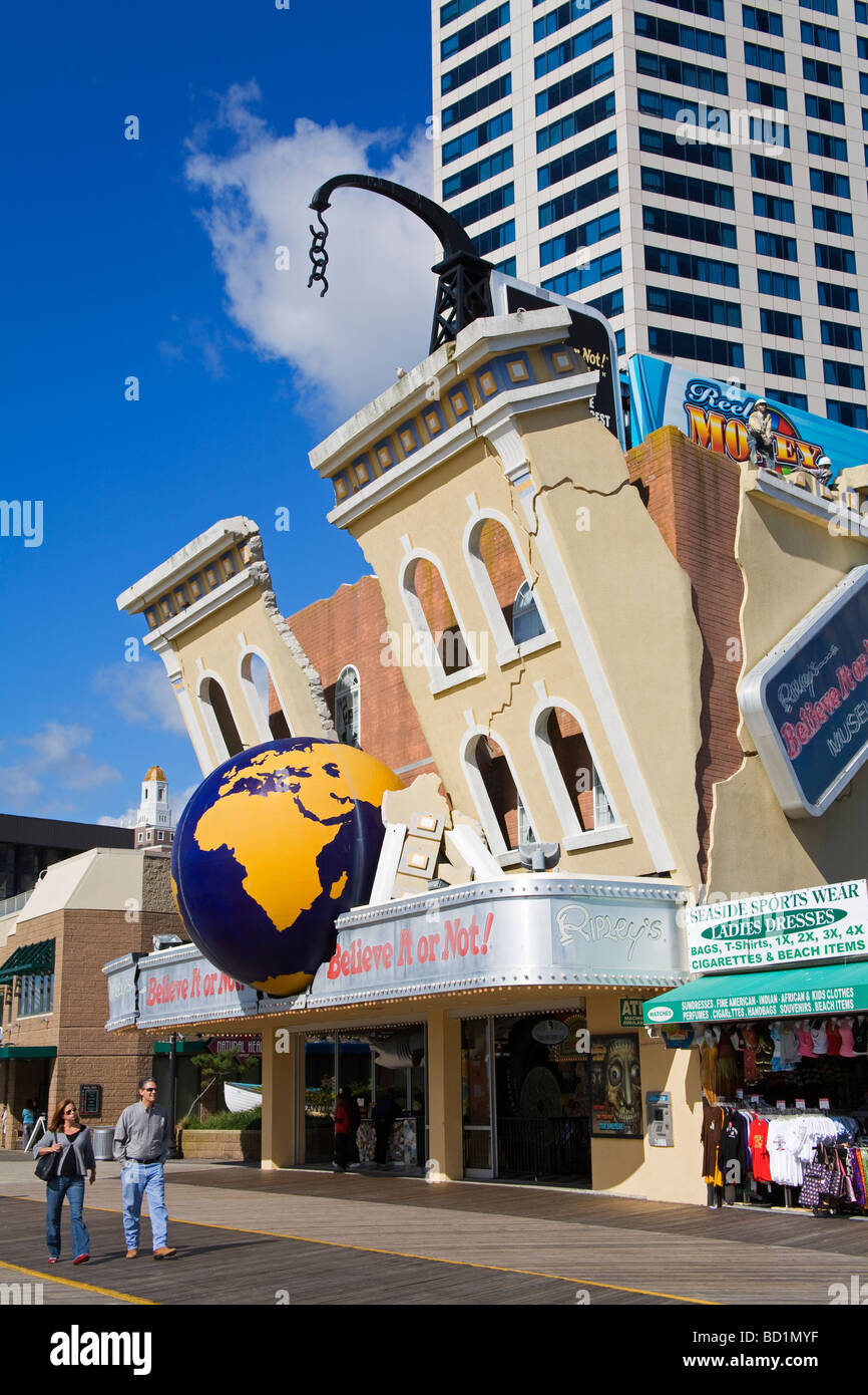 Ripley s Belive It or Not Atlantic City New Jersey USA Photo Stock