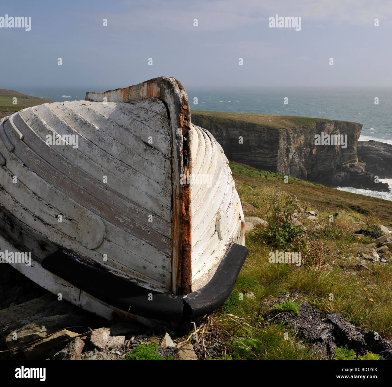 Mizen Head, dans le comté de Cork, en République d'Irlande, Irlande ; Photo Stock