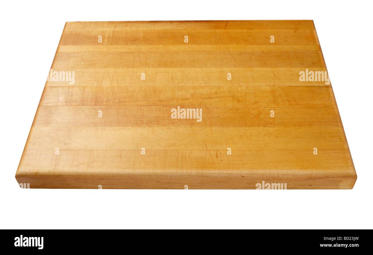 Planche à découper en bois Photo Stock