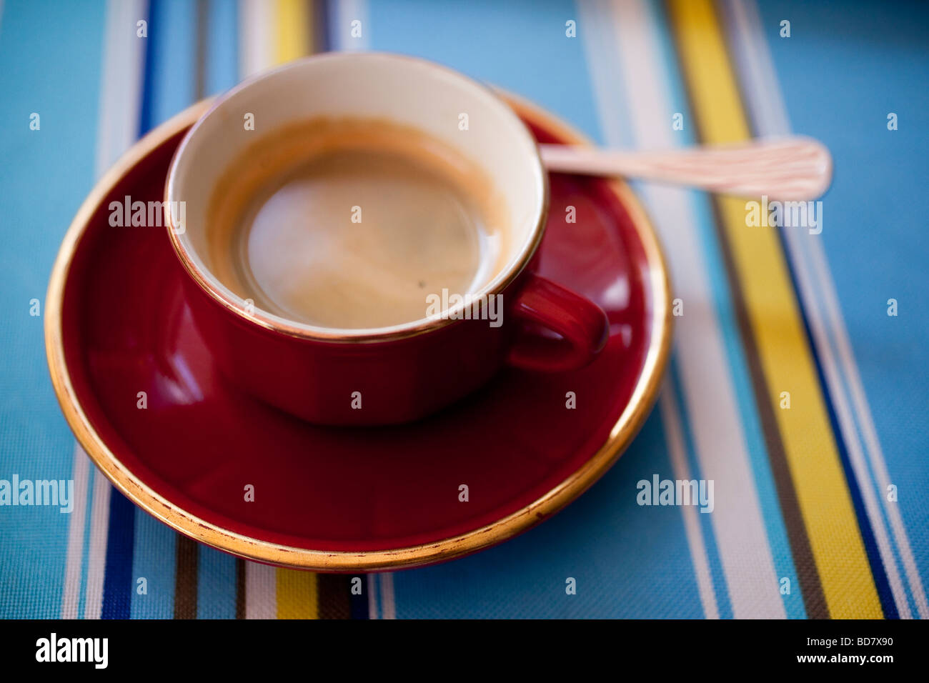 Une tasse de café Photo Stock