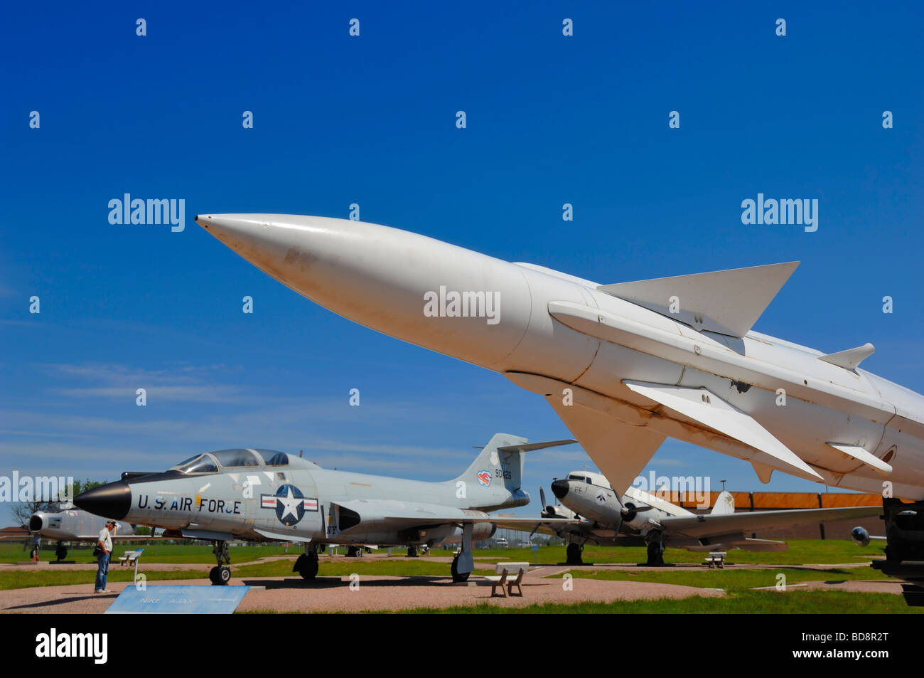Titan Missile sur le Dakota du Sud l'air et de l'espace près de Rapid City Photo Stock