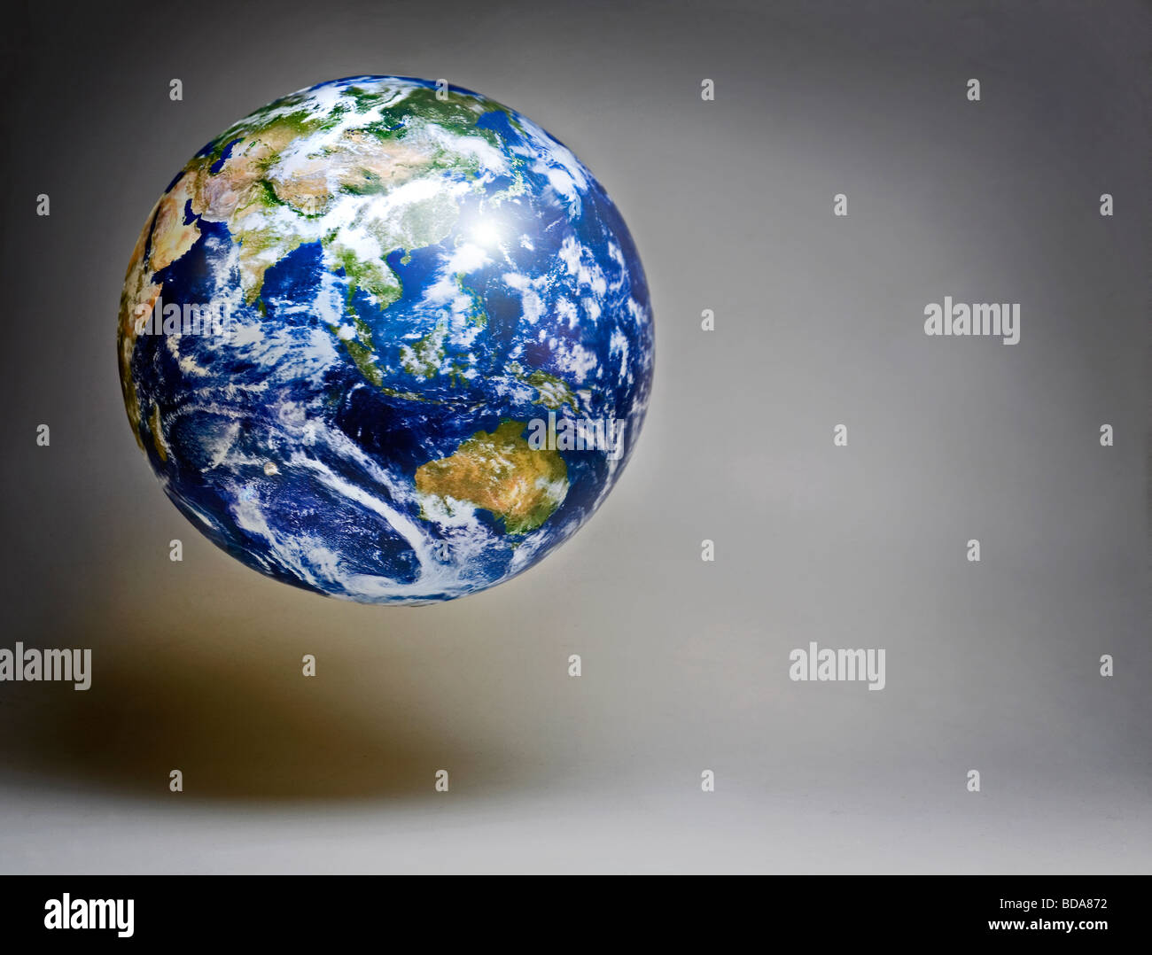 Toujours d'un world globe Photo Stock