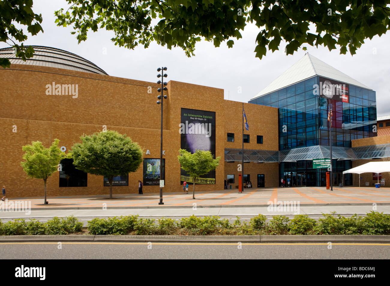 Musée de l'Oregon et de l'industrie Scence aka OMSI, Portland, Oregon Photo Stock