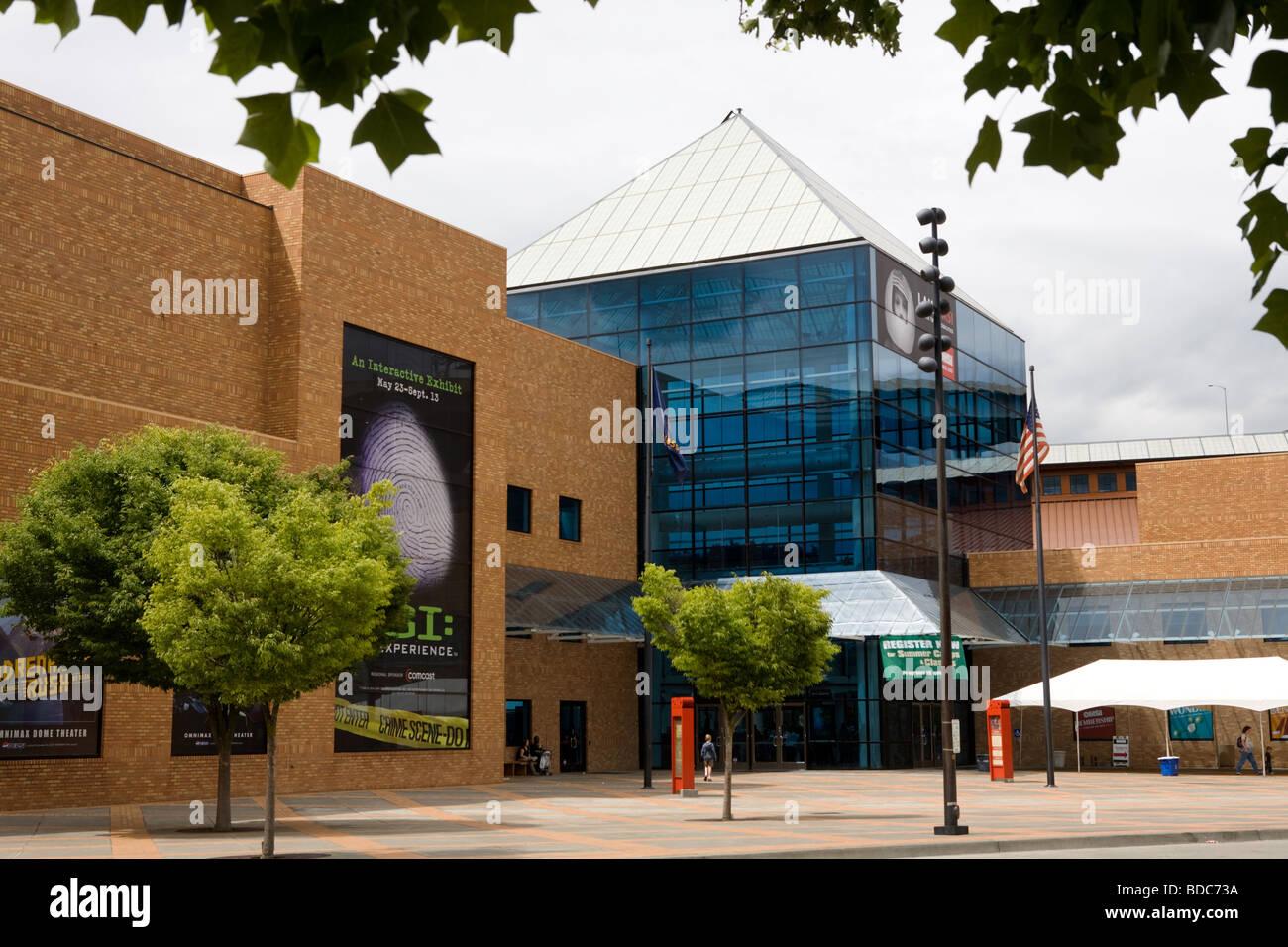Musée de l'Oregon et de l'industrie Scence OMSI Oregon Portland aka Photo Stock
