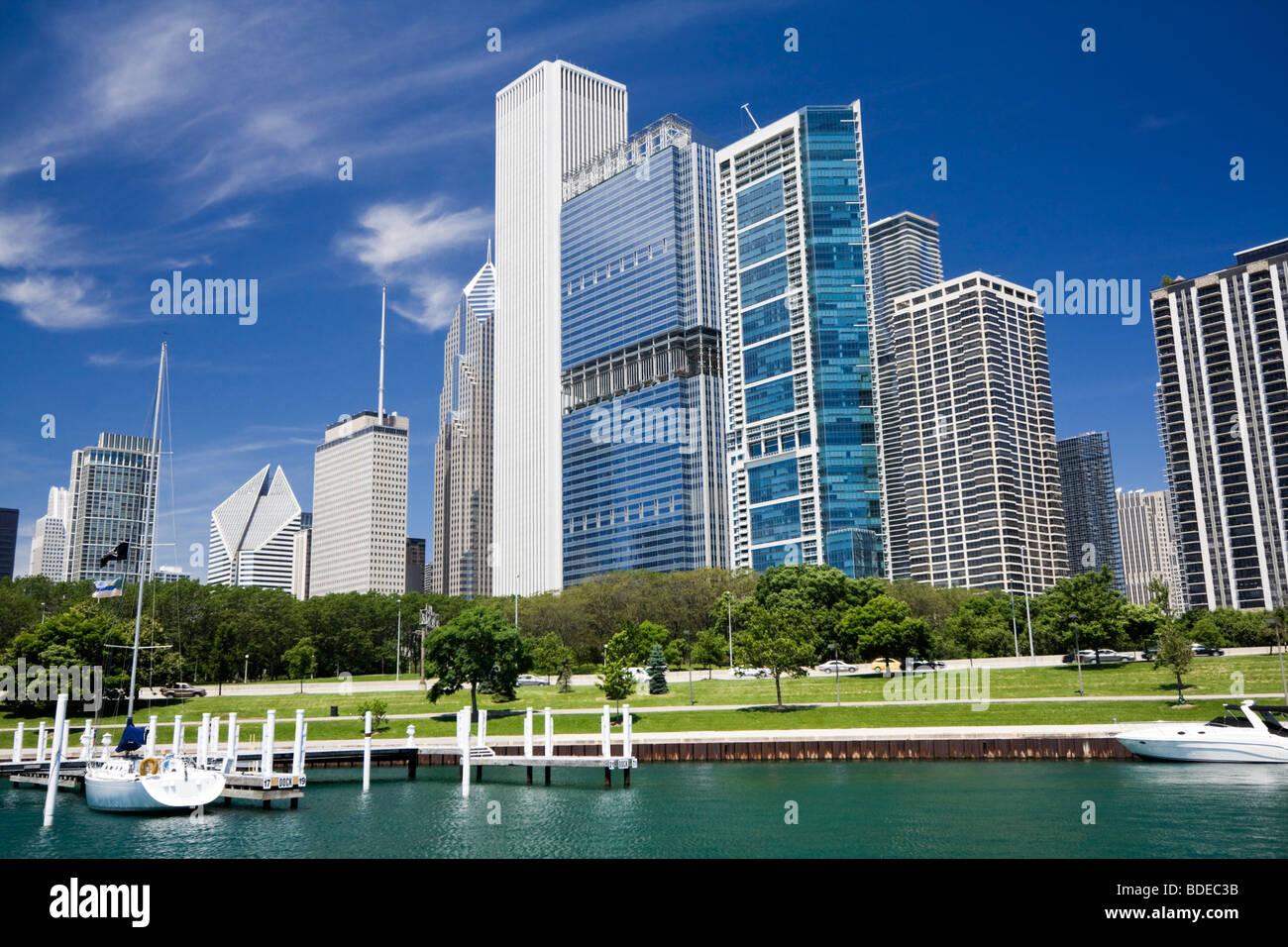 Belle journée à Chicago Photo Stock