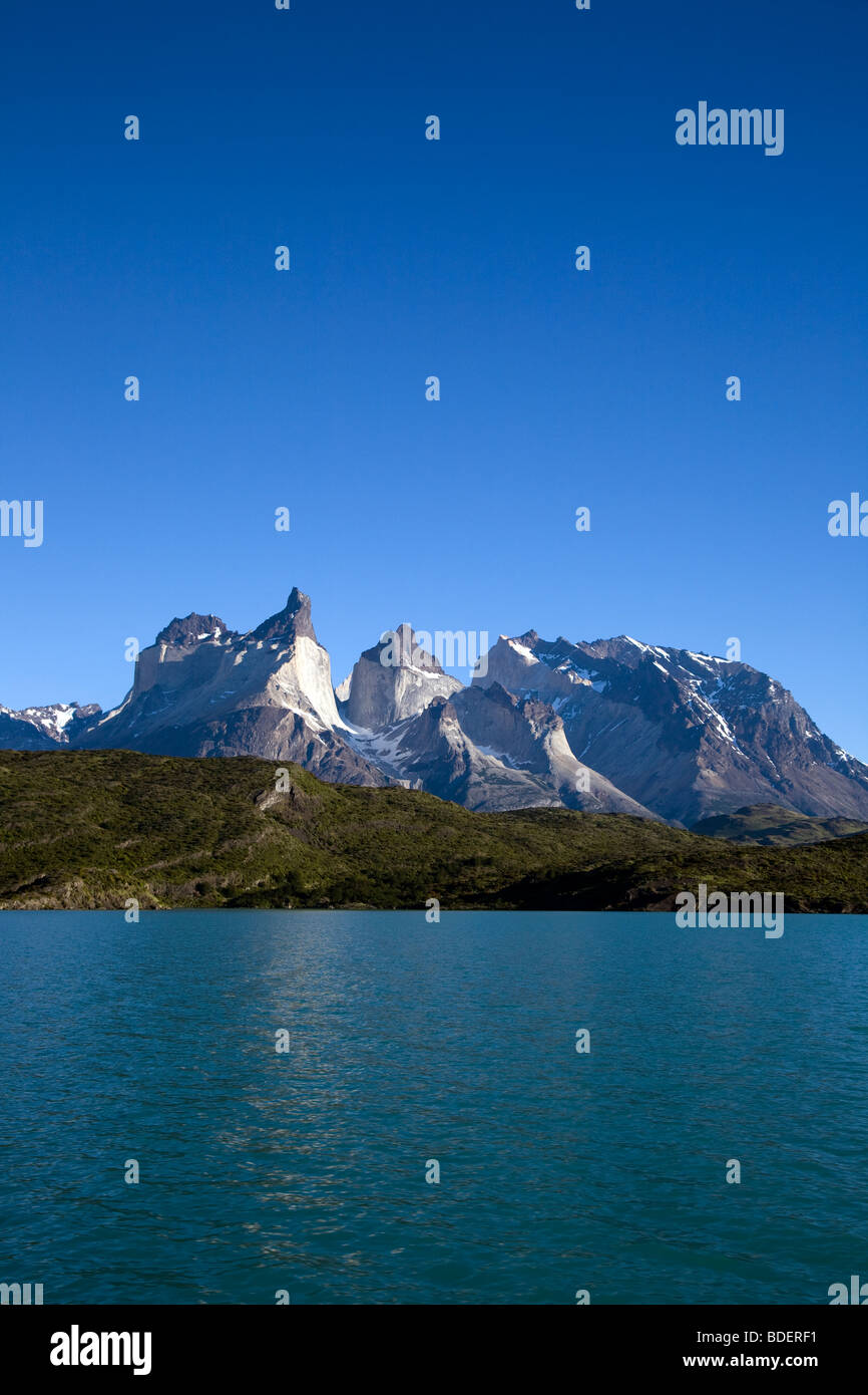Cabo de Hornos, de Lago Pehoe, Torres del Paine, Chili Banque D'Images