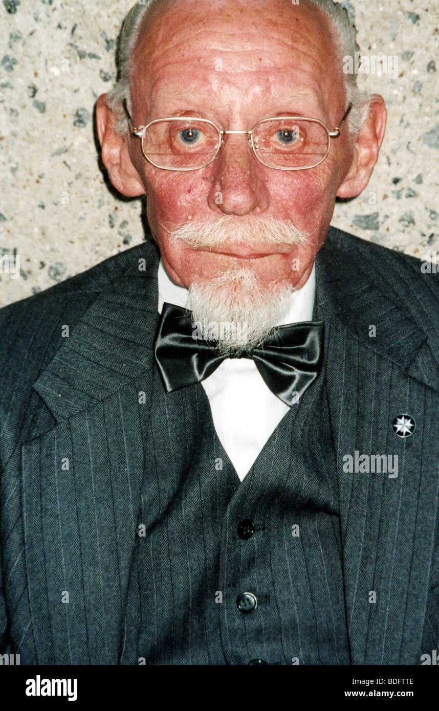 BERT LUXFORD technicien d'effets spéciaux sur les films de James Bond Photo Stock