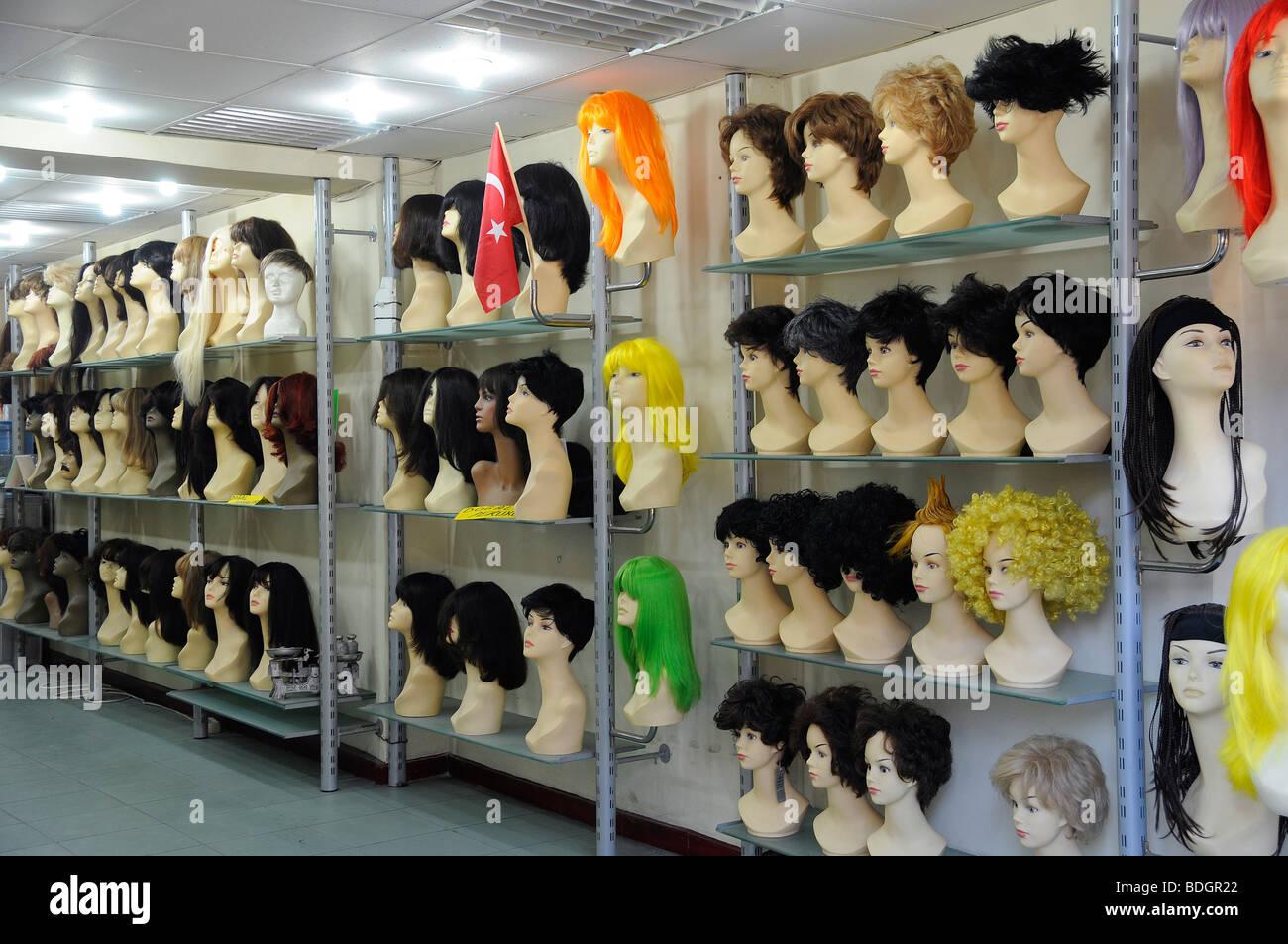 En Turquie il est interdit de porter le foulard dans les universités, c'est pourquoi certains élèves Photo Stock