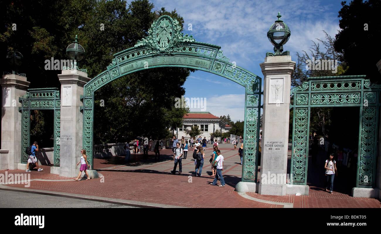 Berkley College Université de Berkeley Photo Stock