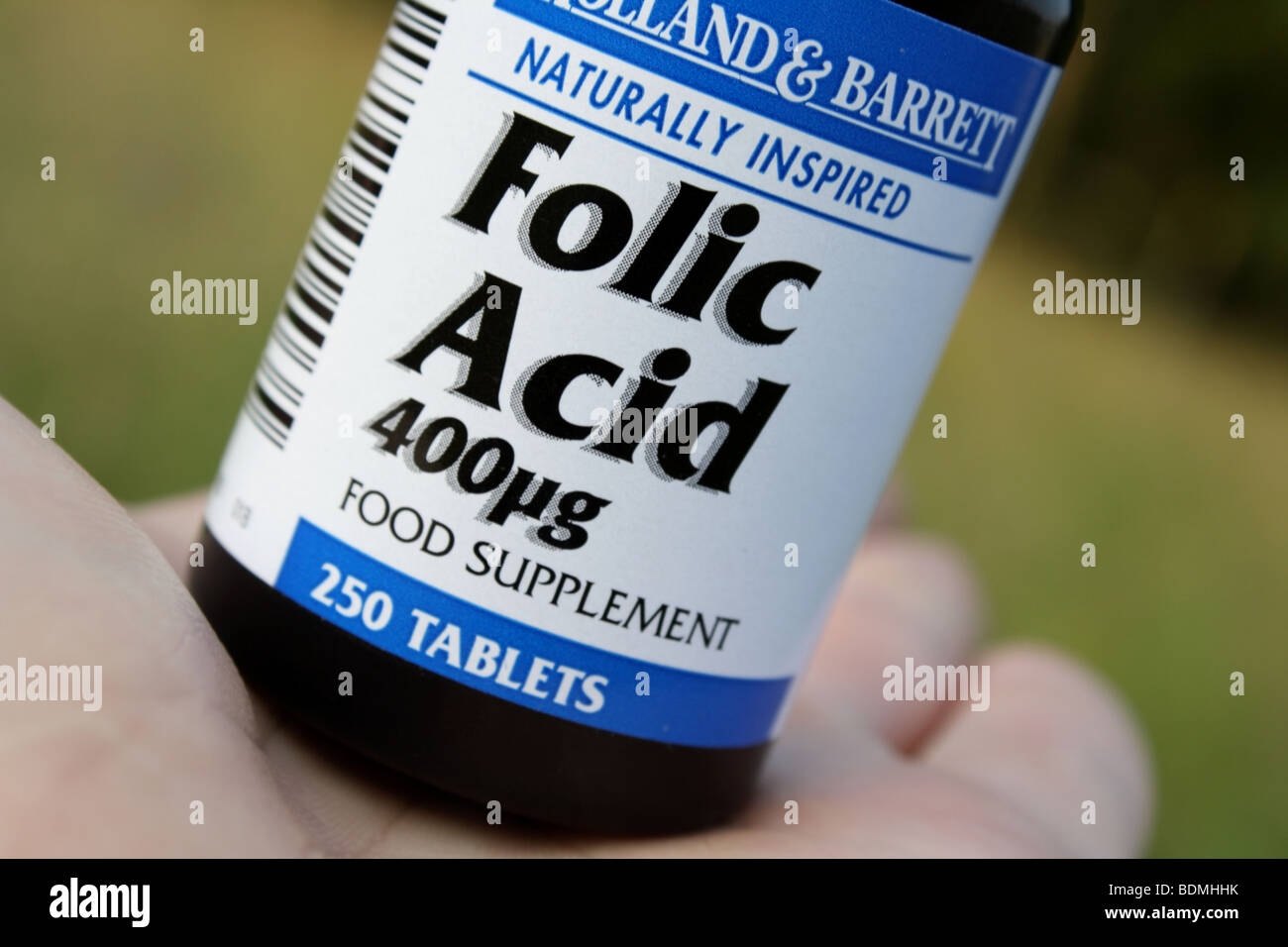 Acide folique Photo Stock