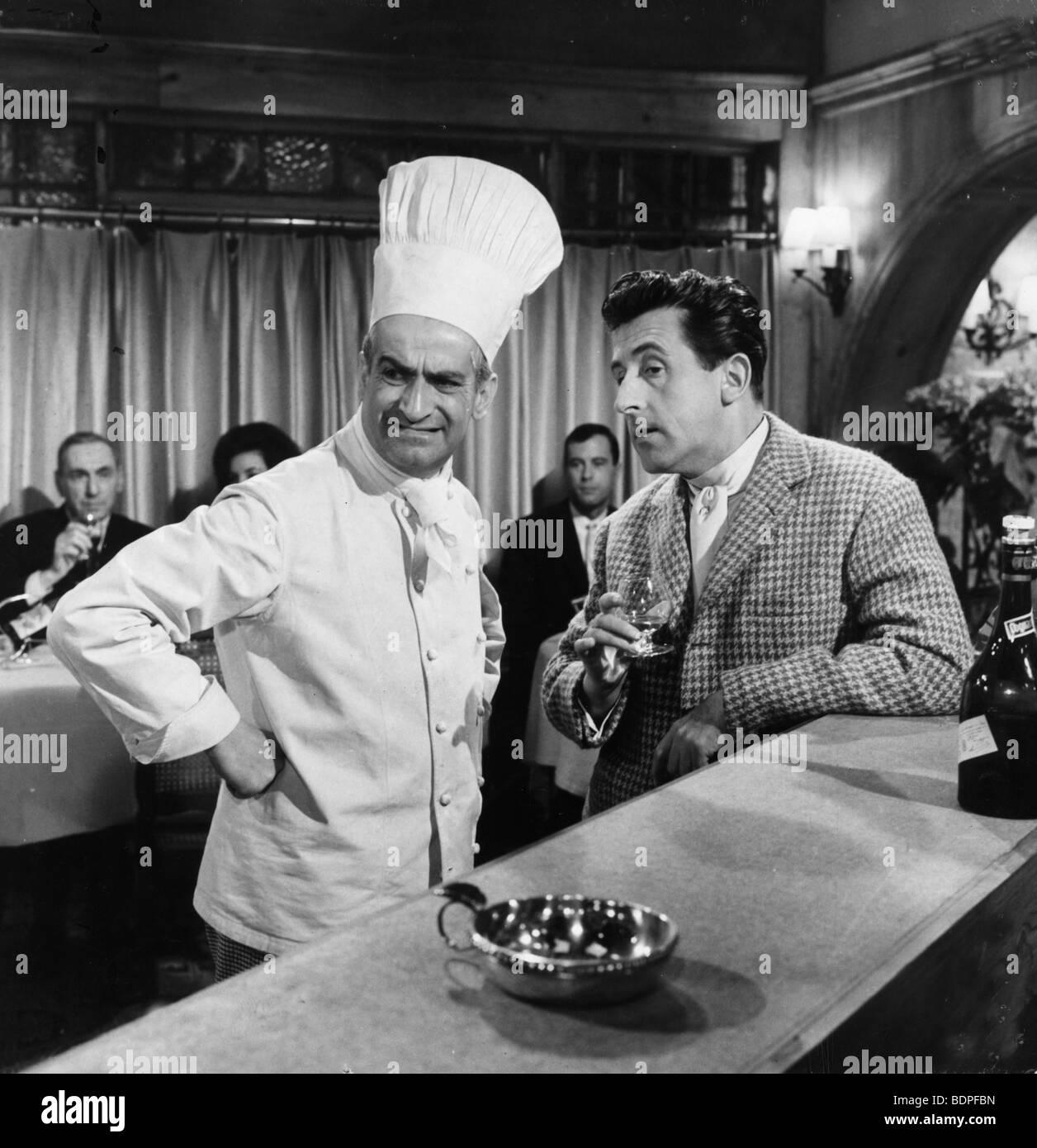 Le gentleman d'Epsom Année: 1962 Réalisateur: Gilles Grangier Jean Lefebvre, Louis de Funès Banque D'Images