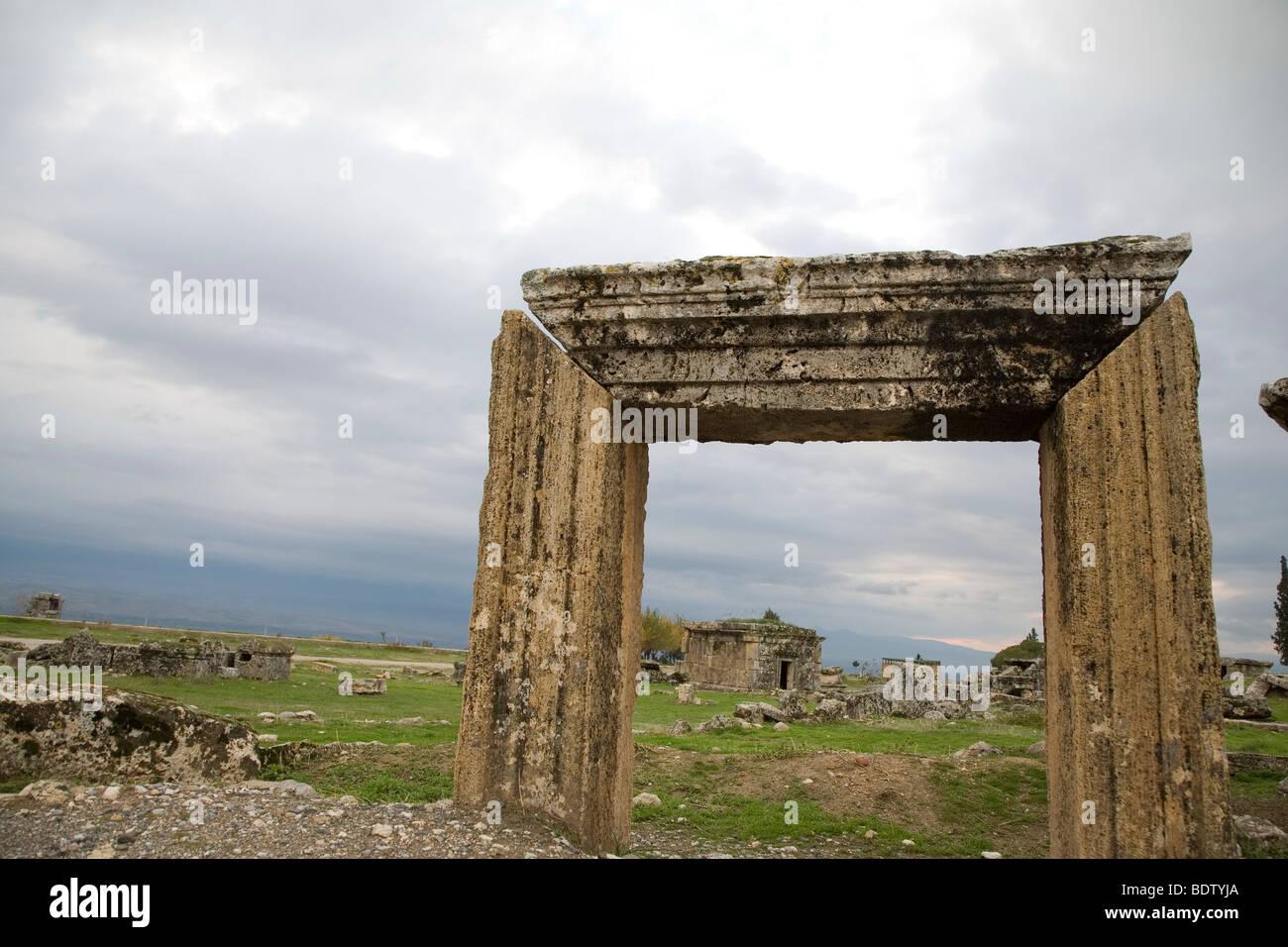 La ville de l'antiquité en Anatolie, excavation archéologique, Turquie Photo Stock