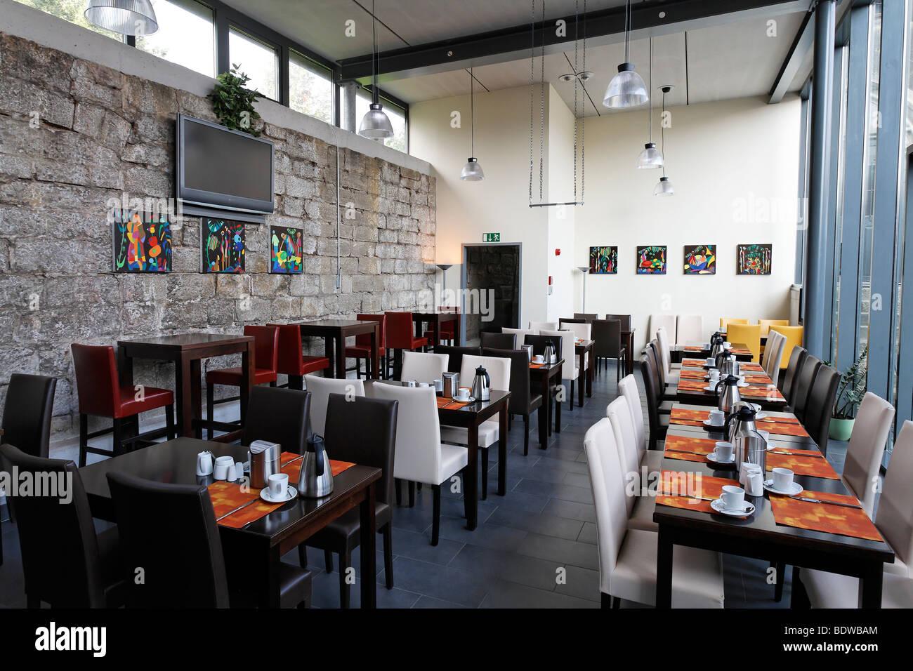 Salle de petit déjeuner moderne, l\'hôtel Altes Knasthaus maison ...