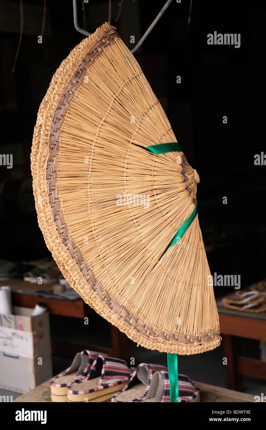 remise spéciale toujours populaire lisse Chapeau de paille de riz japonais traditionnel, près de ...