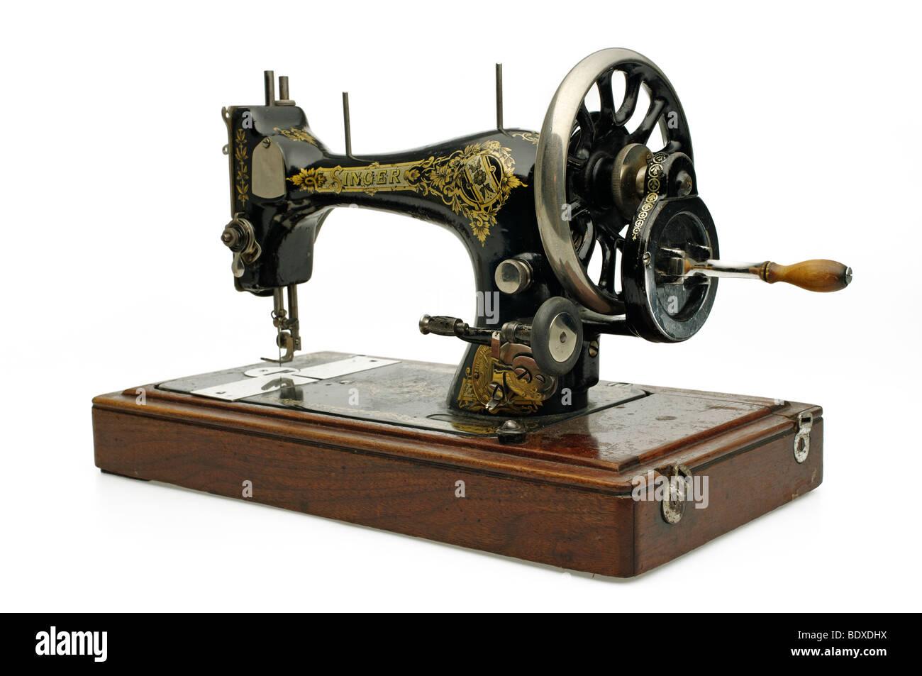 Machine A Coudre Ancienne ancienne machine à coudre ancienne singer banque d'images