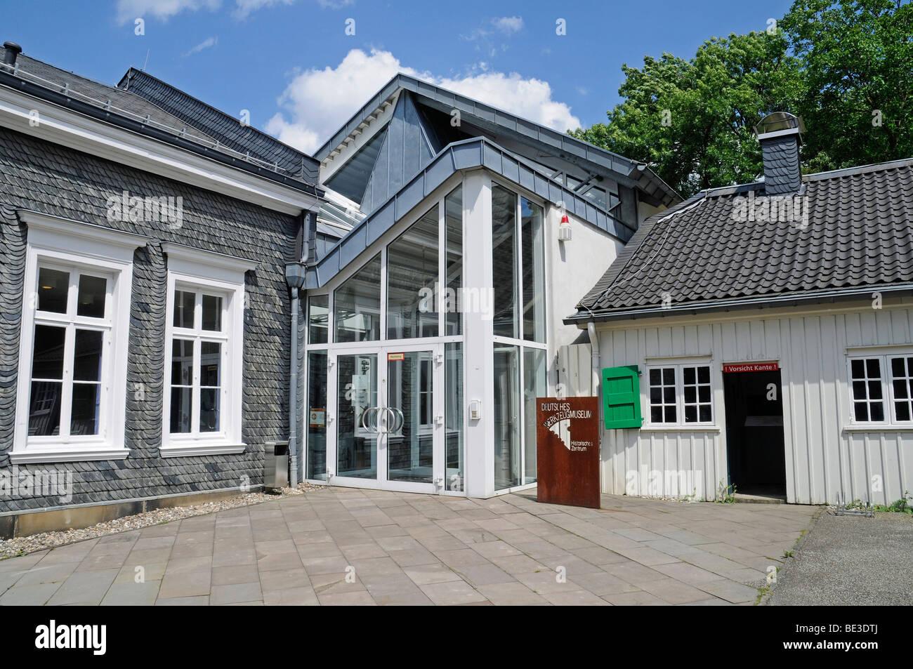 Deutsches Werkzeugmuseum outil allemand museum, centre historique, hâte, Remscheid, région de Bergisches Photo Stock