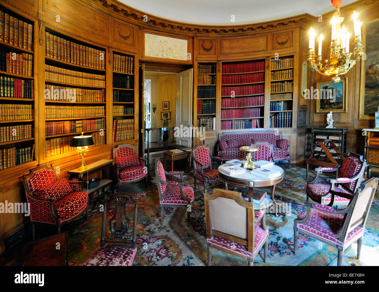 L 39 int rieur du mus e nissim de camondo un bourgeois du for Interieur 19eme siecle