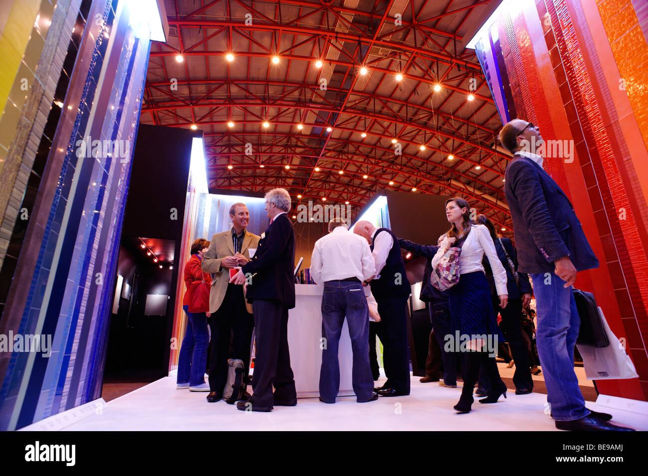 Johnson et le commerce Laboratoire de stand. 100% Design London show. Earls Court 2009 Banque D'Images
