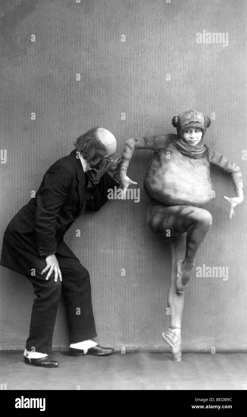 Photographie historique, théâtre, vers 1922 Photo Stock