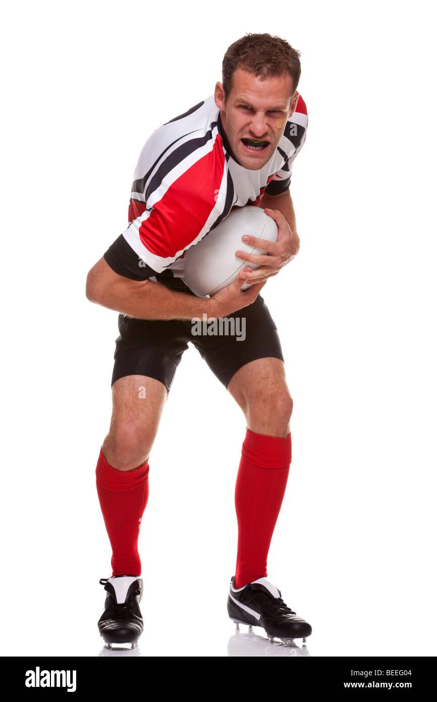 Joueur de rugby à XV Photo Stock