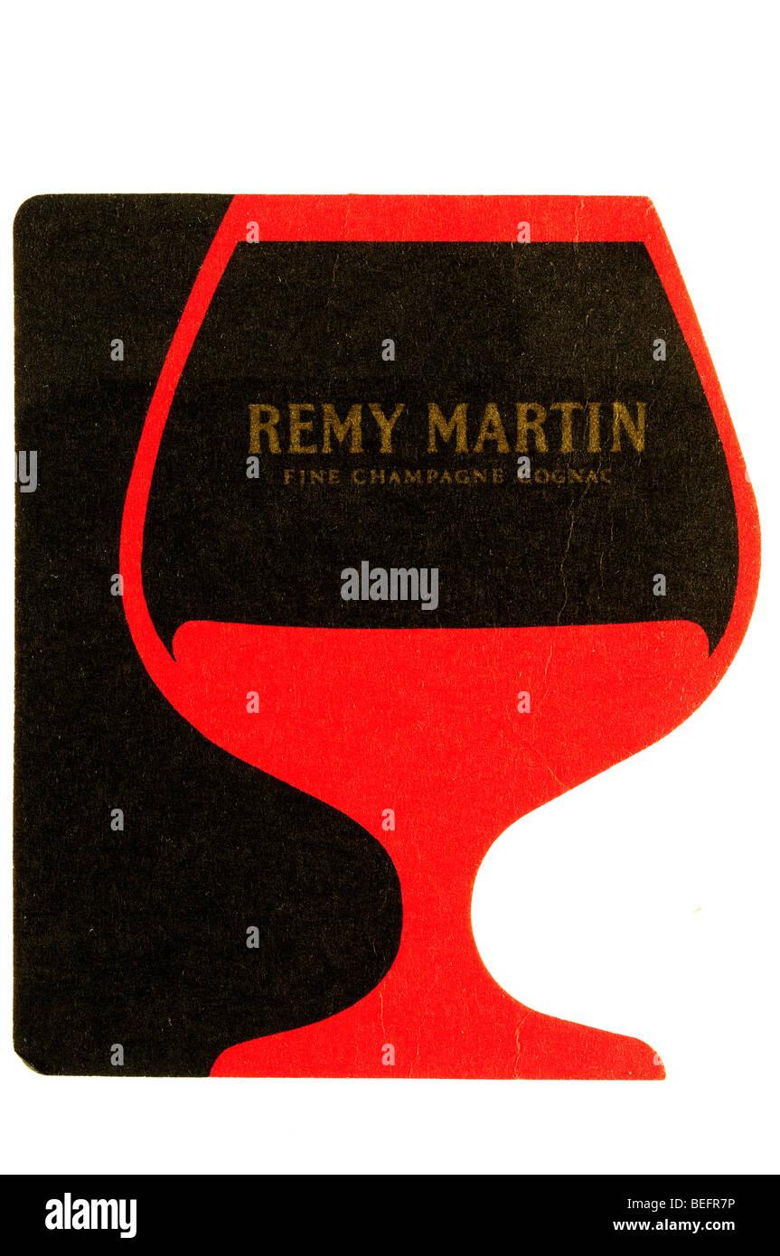 Remy Martin fine champagne cognac Photo Stock