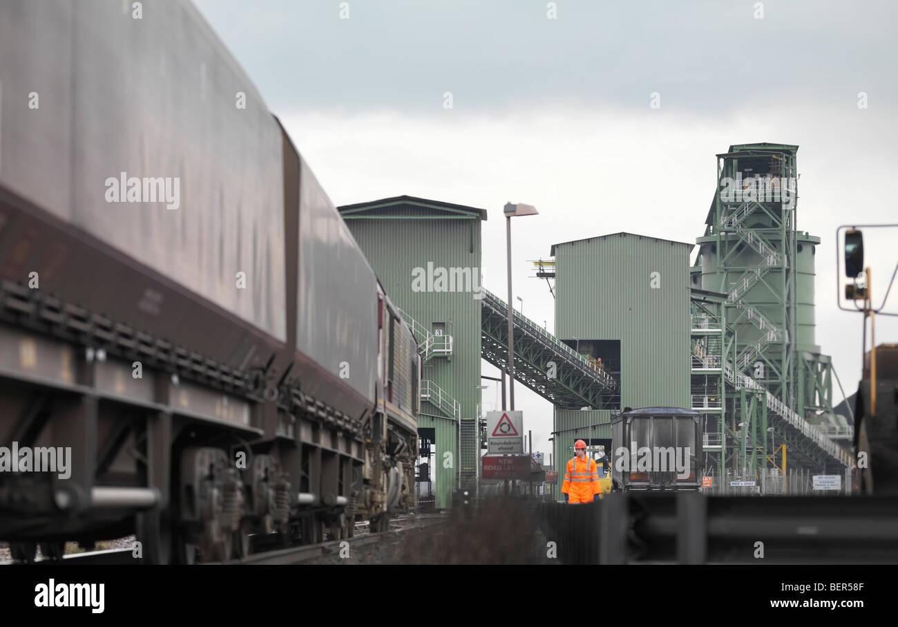 Côté Port pour former Banque D'Images