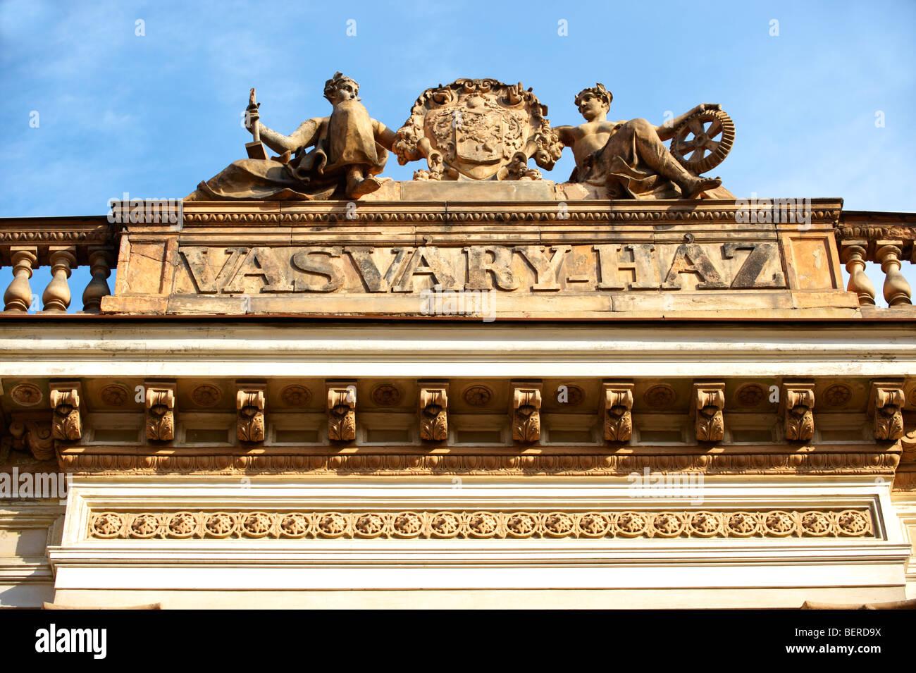 Caractéristiques architecturales Zsolnay à Pecs - Ville culturelle européenne de l'année 2010 , Hongrie Banque D'Images
