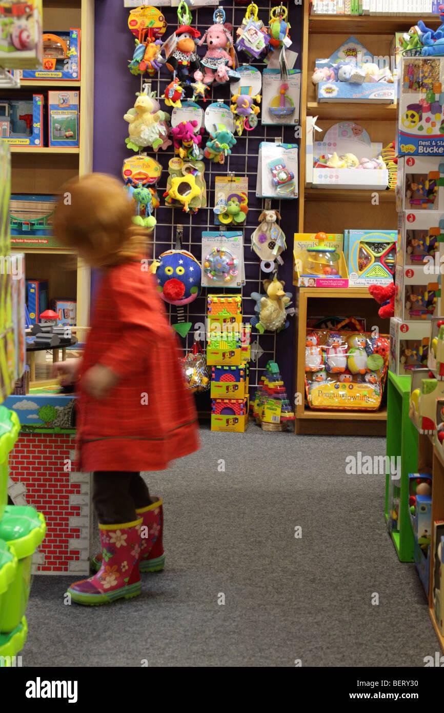 Magasin de jouets Photo Stock